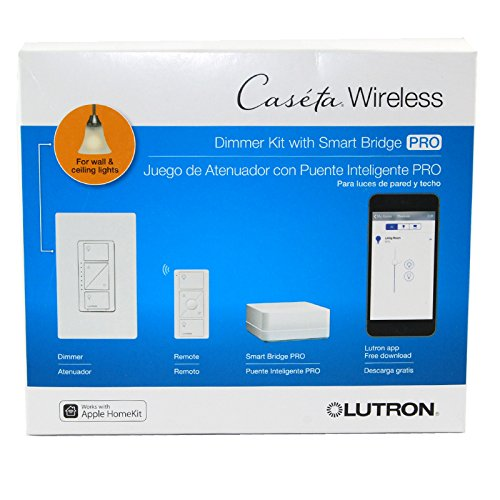 Lutron Casteta Wireless Smart Bridge Pro P Bdgpro Pkg1w Dimmers Led